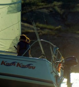 Sailing Knot Krazy.  Photo credit Darren Jacquard