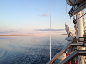 Our Wake in Simpson Strait